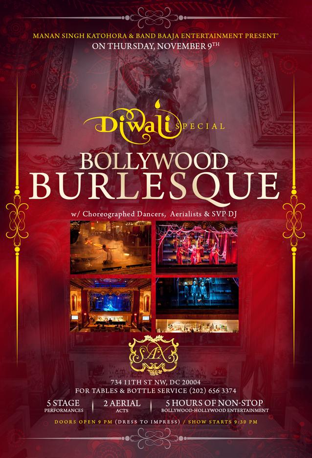 Bollywood Burlesque Diwali 2017