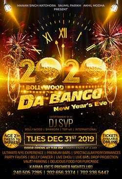 BollywoodDaBangg- NYE2020