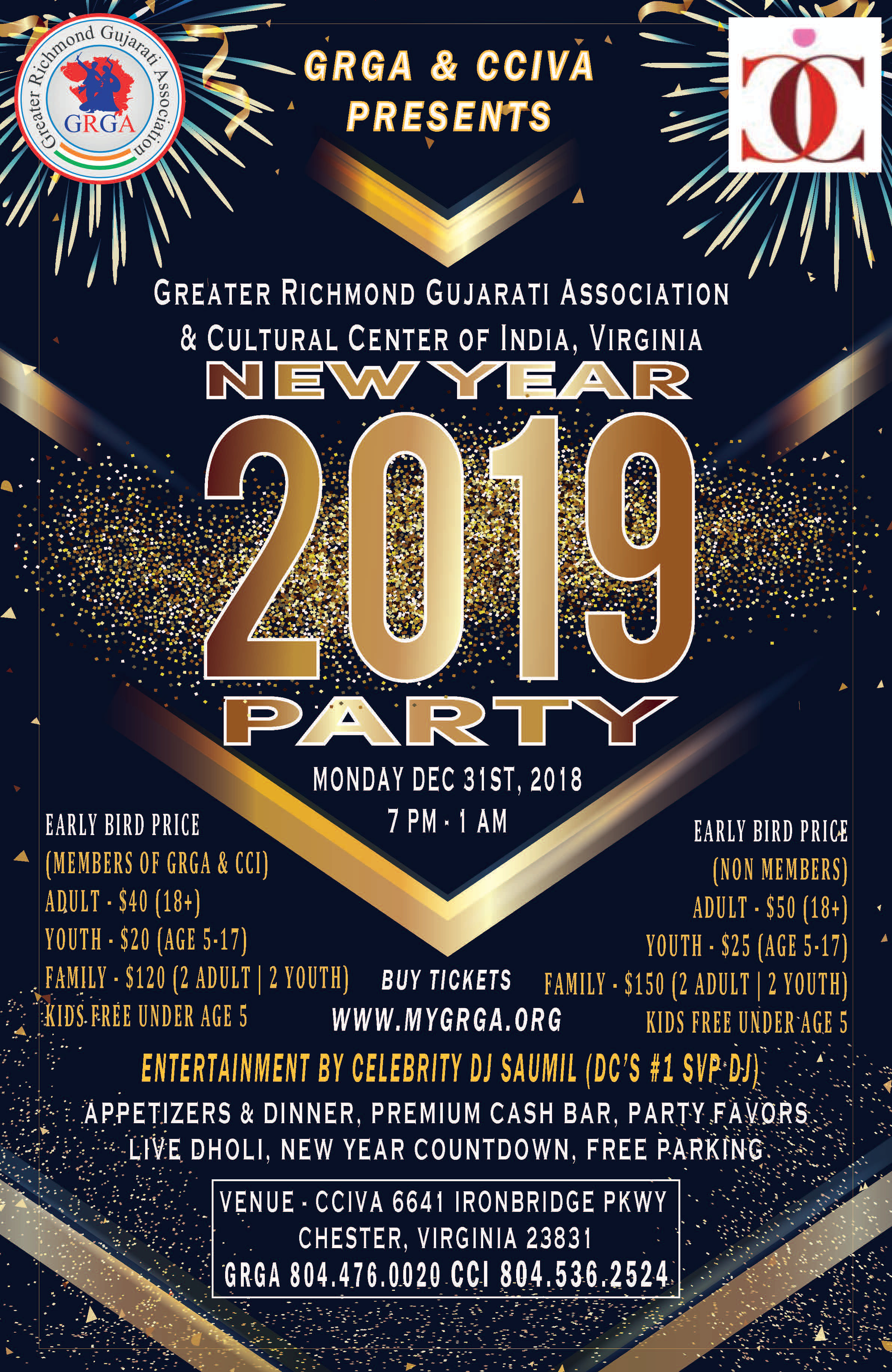 NYE2019 - Richmond VA