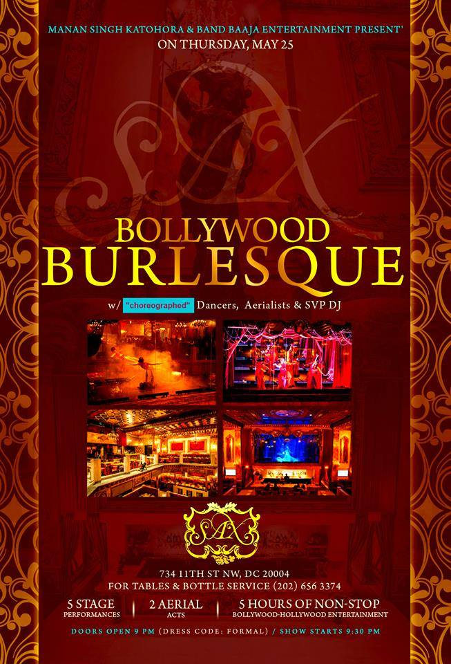 Bollywood Burlesque May 2017
