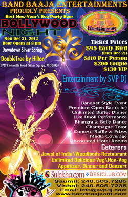 Bollywood Night - NYE2013