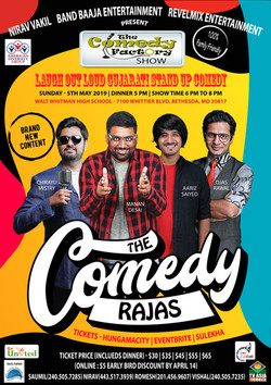 The Comedy Factory - DC2019