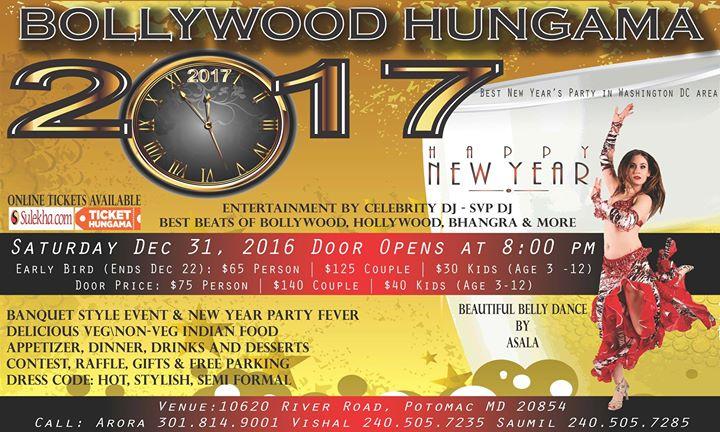 Bollywood Hungama - NYE 2017