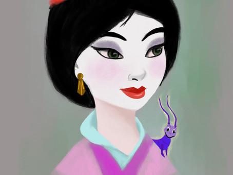 Mulan Portrait
