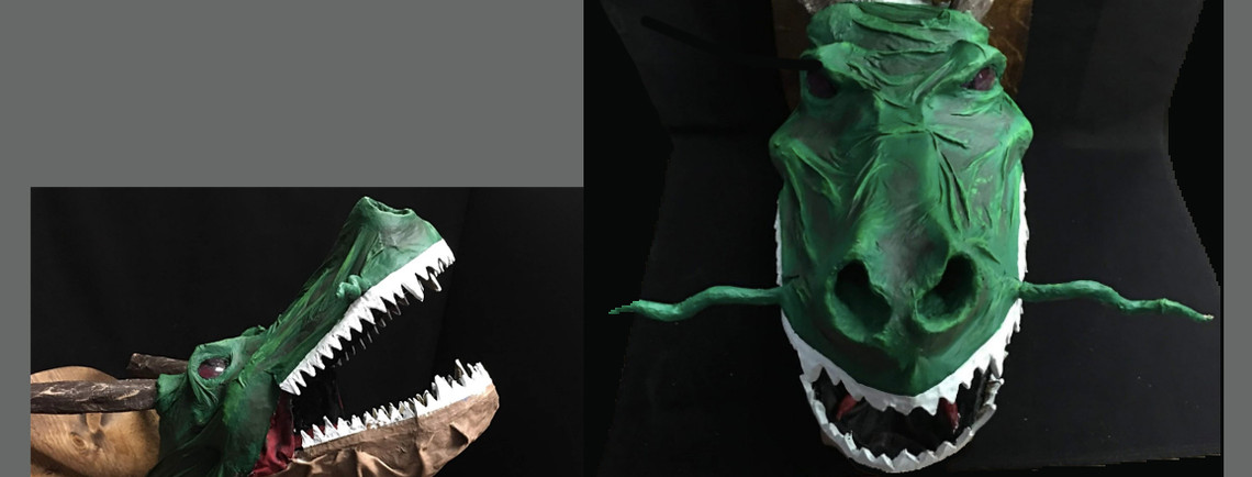 Croco Dragon -  HS Honorable Mention
