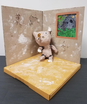 abandoned teddybear