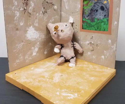 abandoned teddybear - MS 1st Place