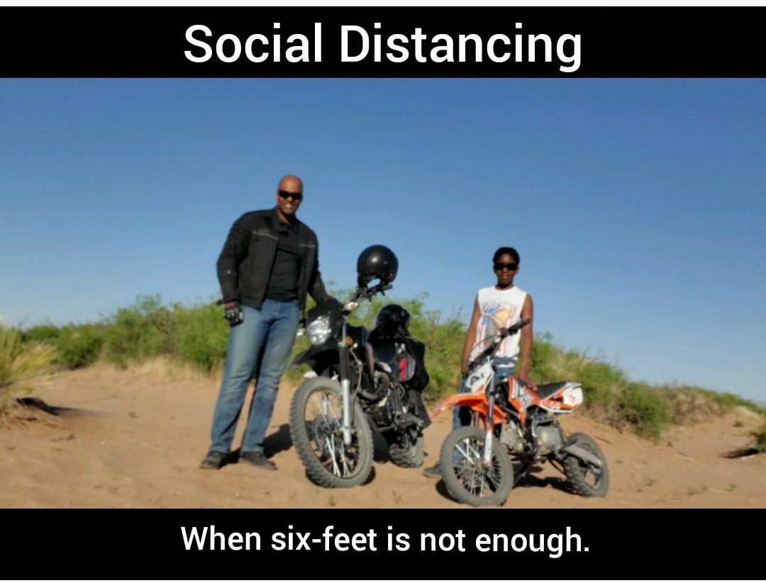 6 Feet Not Enough