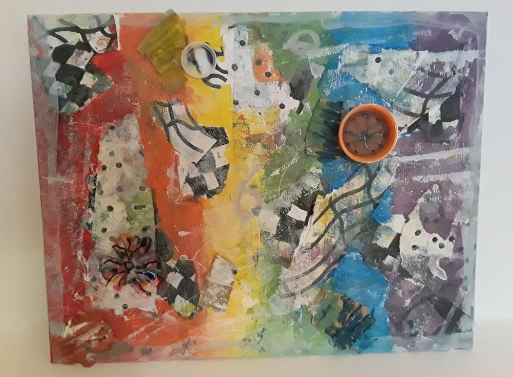 Abstract collage  - ES 2nd place