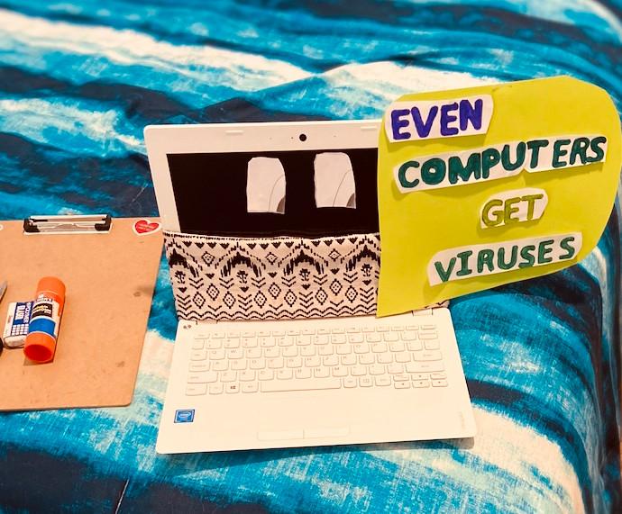 Even Computers Get Viruses