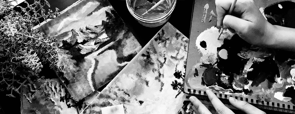 Painting Eases the Mind