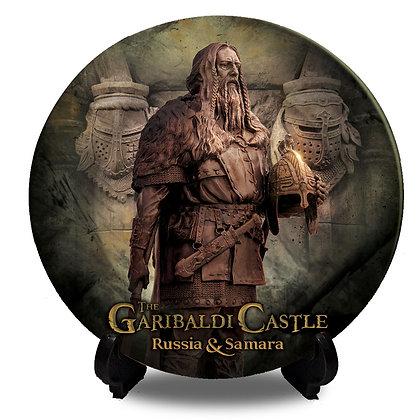 Garibaldi Castle Collectors Plate II Hero