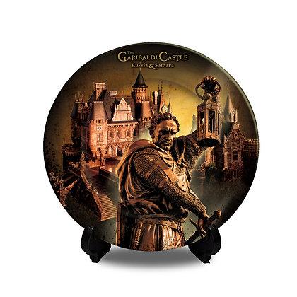 Garibaldi Castle Collectors Plate I