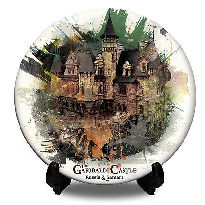 Garibaldi Castle Collectors Plate III Folklore