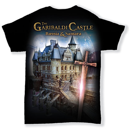 Garibaldi Castle T-Shirt Swordsman