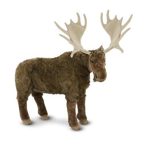 Lifelike Plush Moose