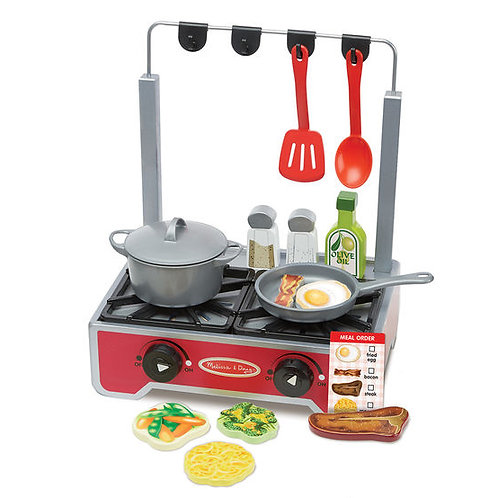 Deluxe Wooden Cooktop Set