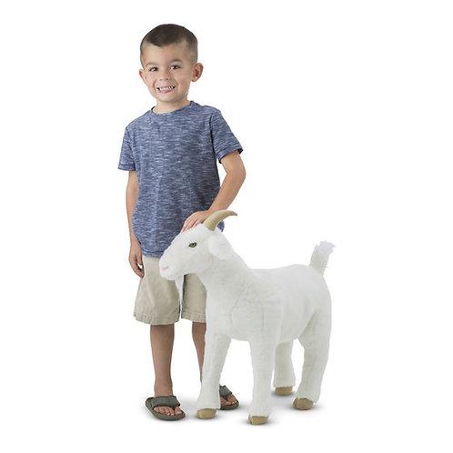 Lifelike Plush Goat