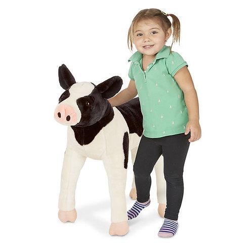 Calf Lifelike Stuffed Animal