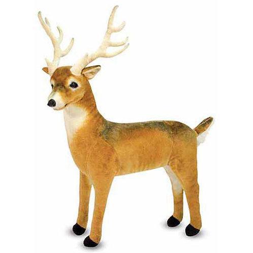 Lifelike Plush Deer