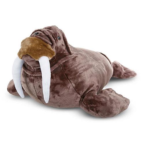 Walrus Lifelike Stuffed Animal