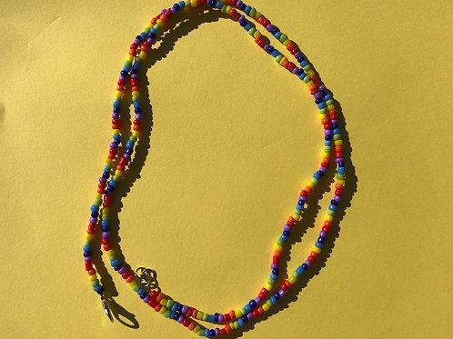 Rainbow Waist bead