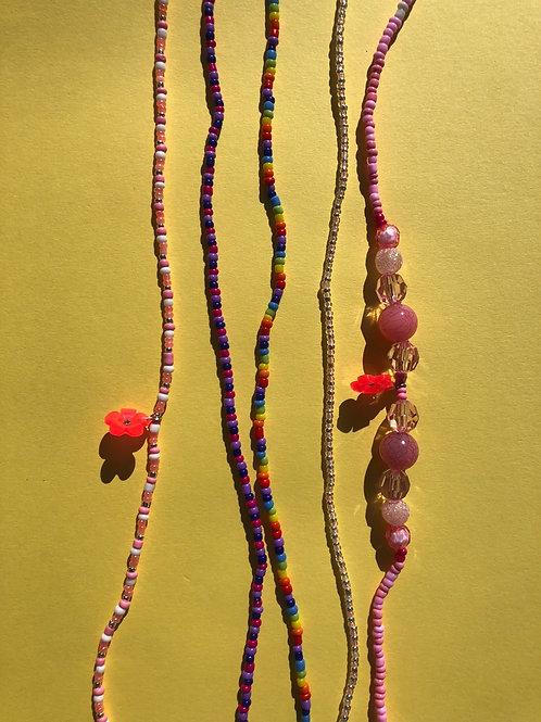 Personalized waist beads