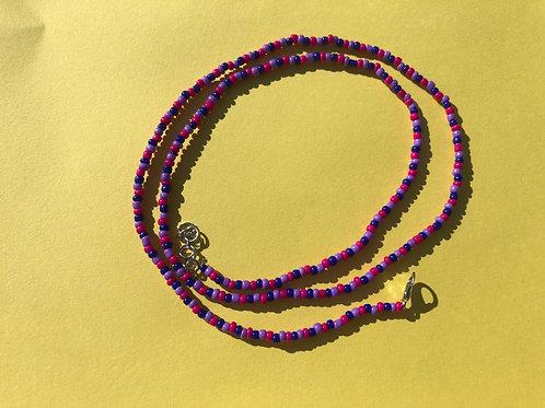 Violet Waist Bead