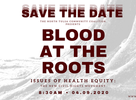 NTCC Presents Blood At The Roots: Issues of Health Equity, The New Civil Rights Movement