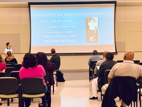 Dr. Mike Stout Brings Awareness of ACES to North Tulsa Community Coalition (NTCC)
