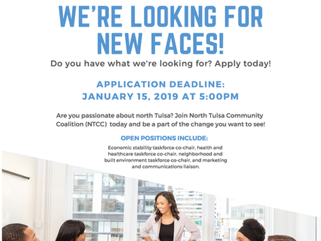NTCC is Looking for New Faces
