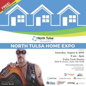 Charlie Redd to Perform at the 2019 North Tulsa Home Expo!