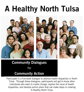 "NTCC Partners with OSU-Tulsa Graduate Student for ""A Healthy North Tulsa Dialogue Series"""