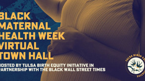 NTCC Supports Black Maternal Health Week April 11-17, 2021
