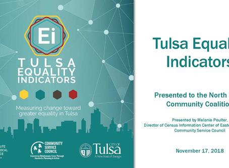 NTCC Hosts Tulsa Equality Indicators Presentation