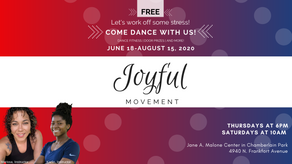 Joyful Movement Launches In Person Classes June 18th