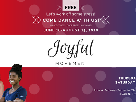 Joyful Movement Launches In Person Classes June 18th