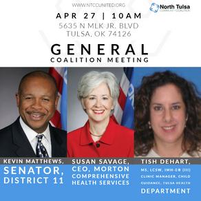 April Speakers Announced
