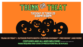 Jane A. Malone Center and NTCC Partner for the 1st Trunk or Treat at Chamberlain Park!