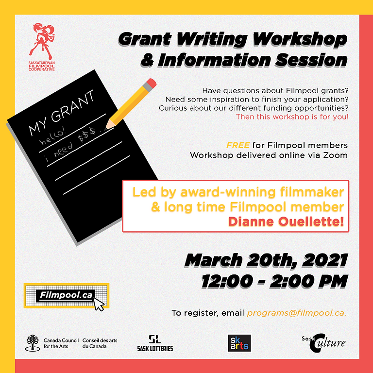 Grant Writing Workshop & Information Session