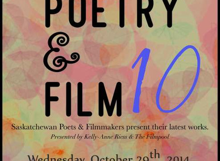 Come on out for A Night of Poetry & Film 10