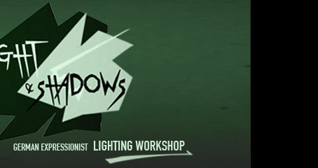 Light & Shadows: lighting workshop with Layton Burton