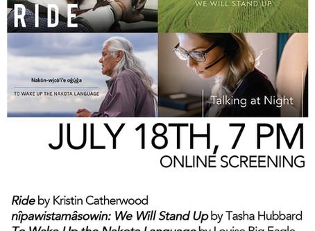 NFB Online Screening + Q&A: A Night of Documentary Films Made in Saskatchewan