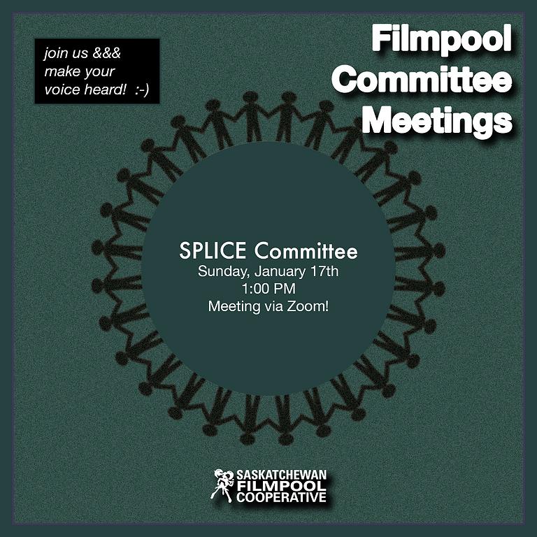 SPLICE Committee Meeting