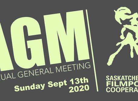 AGM – September 13th 2020