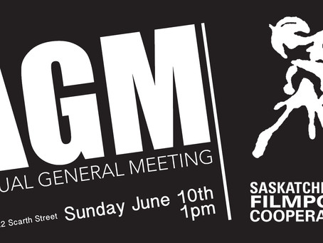 Filmpool AGM: June 10th 1pm