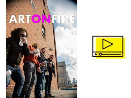 Rob White – Art on Fire