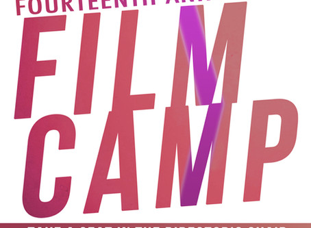 Film Camp 2019 Registration Now Open!