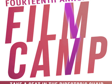 Film Camp 2019 Registration Now Open!