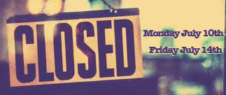 Filmpool office Closed July 10th-14th due to Film Camp